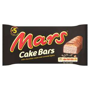 Mars 5 pack cake bars only 69p at Home Bargains