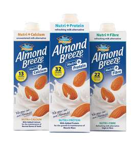 Free Blue Diamond Almond Milk