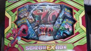 Pokémon Scizor EX box scanning at £5 instore at Asda.