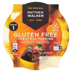 Matthew Walker GLUTEN FREE Christmas Pudding (100g) - £1 @ Iceland