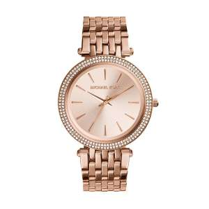 Michael Kors MK3192 Ladies PVD Rose Gold Crystal Quartz Watch was £229 now £98.10 Del w/code @ ShopOnTime