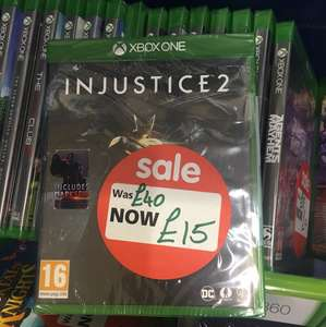 Injustice 2 Xbox one £15 @ Asda