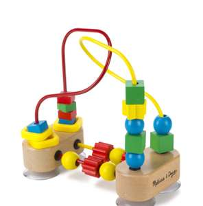 First Bead Maze - Wooden Educational Toy £5.99 prime / £10.74 non prime @ Amaozn