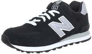 New Balance M574, Men's Low-Top Sneakers (Black) - was £51.99 now £35 @ Amazon