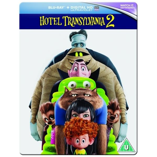 Hotel Transylvania 2 Steelbook Blu Ray + Digital HD UV @ 365Games