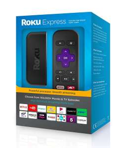 Roku Express HD Media Streamer £24 with code @ Tesco Direct + £35 of free entertainment