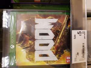 Doom and COD infinite warfare for £5 each at Asda instore