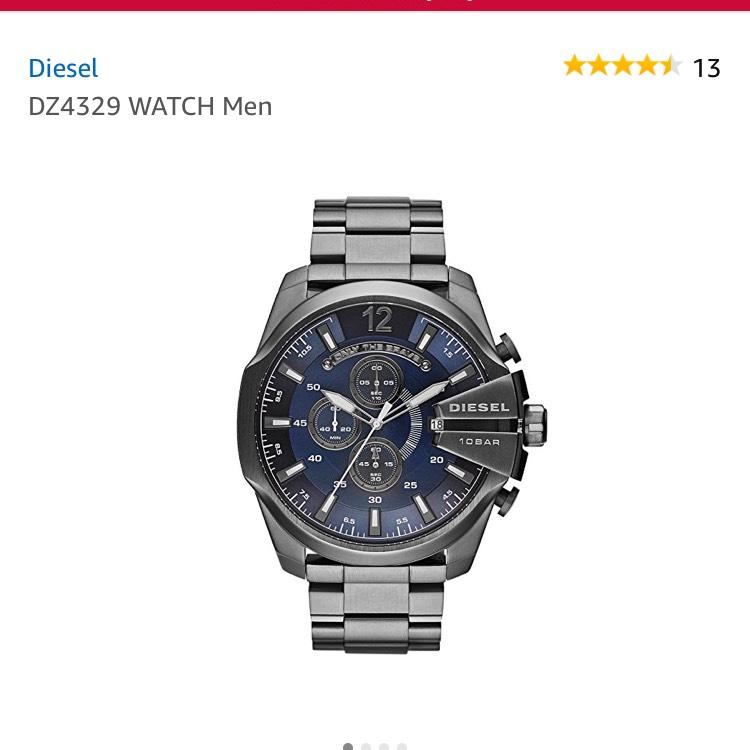 Diesel men's watch £115.60 @ Amazon - Prime exclusive