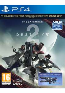 Destiny 2 on PlayStation 4 £24.99 @ Simply Games