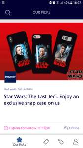 O2 priority Star Wars phone case available again