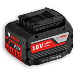 Bosch 4.0ah 18v wireless battery £39.90 @ Axminster