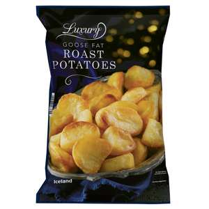 Iceland Luxury Goose Fat Roast Potatoes (1.05Kg) / ONLY £1.50 Iceland Red Cabbage & Apple (280g) ONLY £1.00 @ Iceland