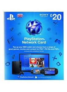 PSN £20 Digital Top-up code £14.99 from Simply Games
