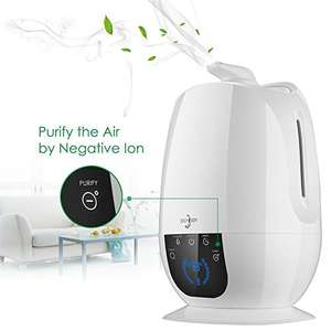 6L Ultrasonic Humidifier + air purify with remote control £24.74 Sold by Joly Joy Co., Ltd and Fulfilled by Amazon.