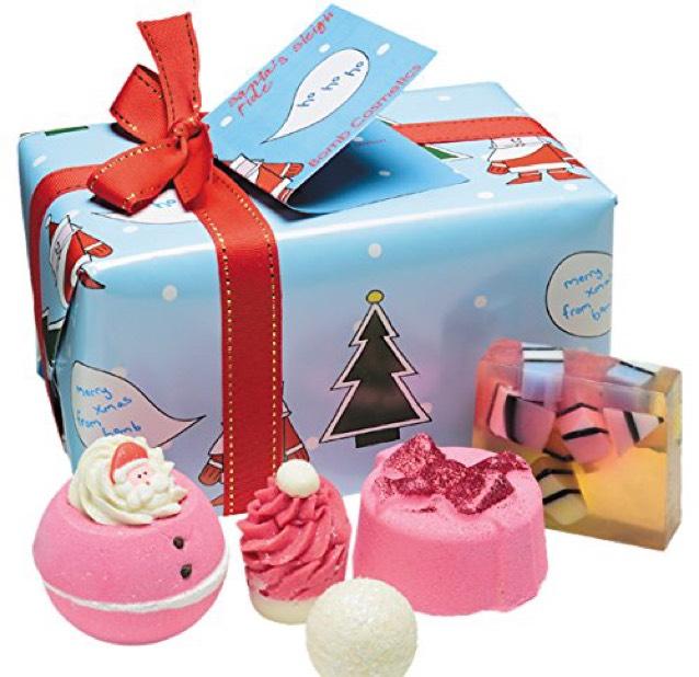 EXPIRED Bomb Cosmetics Santa's Sleigh Ride Handmade Gift Pack £7.50 prime / £12.25 non prime @ Amazon's