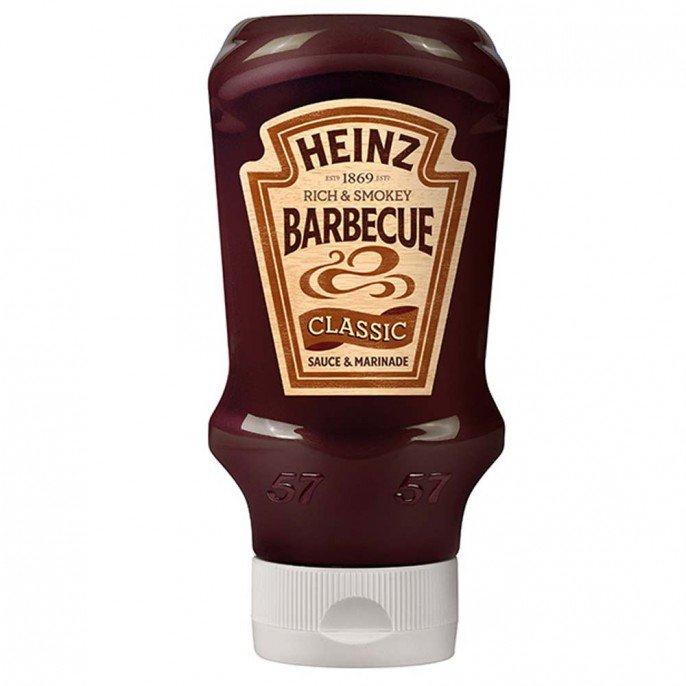 HEINZ CLASSIC BBQ SAUCE 480G only 50p @ Poundstretcher