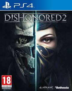 [PS4] Dishonored 2 - £6.69 / Battlefield 1 - £14.40 /  Agents of Mayhem: Day One Edition - £8.52 / Prey - £8.98 / Just Cause 3 Day 1 Edition - £7.82 (As new)  Amazon/Boomerang