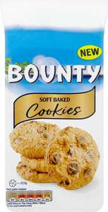 Bounty Soft Baked Cookies (180g) was £2.00 now Only £1.00 / Galaxy Chocolate Chunk Cookies (180g) was £2.00 now Only £1.00 @ Sainsbury's