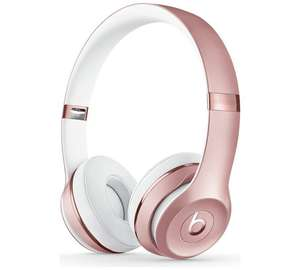 Beats by Dre Solo3 On-Ear Wireless Headphones - Rose Gold £218.99 @ Argos
