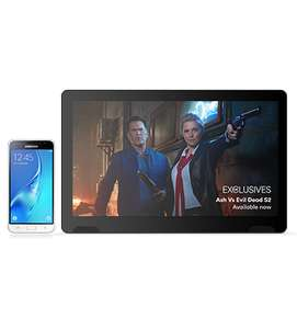 Samsung Galaxy J3 (2016) White + TellyTablet Monthly cost £15 for 24 months, Minutes 300 Texts Unlimited 4G 1.2 GB data