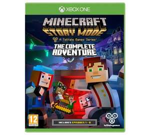 Minecraft Story Mode Complete Collection Xbox One Game