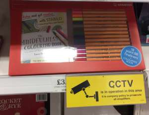 Stabilo Art Mindfulness set at £3.99 Home Bargains