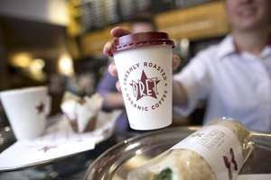 Pret a Manger will knock 50p off ANY hot drink if you bring in a reusable cup (eg 49p for filter coffee) in the 1st week of January