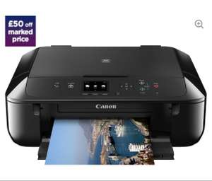 £50 off Canon PIXMA MG5750 inkjet printer - £49.99 @ Curry's (with code)