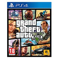 PS4/XBO Grand Theft Auto V  - With Free $1.25m game cash for Multiplayer - £25 @ GAME