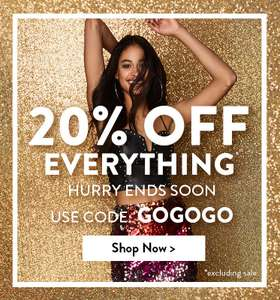 HURRY 20% off everything (new season) with code GOGOGO at Boohoo until 9pm