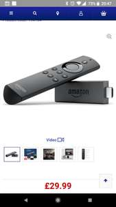 Amazon fire stick with alexa remote - £29.99 @ Currys