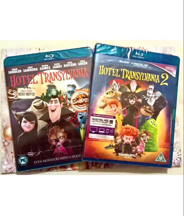 Hotel Transylvania 1&2 Blu-ray £1 EACH-Poundland-Instore