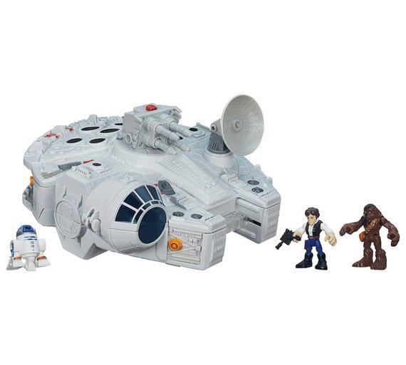 Star Wars Galaxy Heroes Millenium Falcon Original Price £49.99 - £24.99 @ Argos
