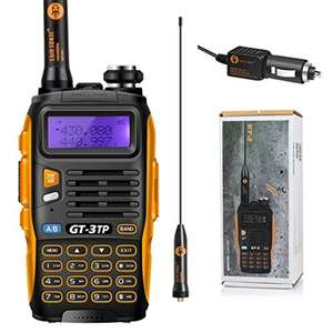 BAOFENG GT-3TP Two-Way Radio Transceiver £29.99 delivered @ amazon (Sold by Celectus UK / FBA)