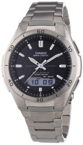 Casio Wave Ceptor Men's Titanium Watch WVA-M640TD - £81.60 @ Amazon