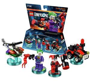 LEGO Dimensions Joker and Harley Team Pack £12.99 @ Argos