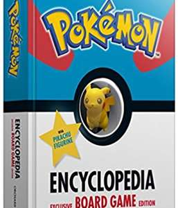 Pokemon encyclopaedia with board game and pikachu figure £6.80 Prime / £8.79 Non Prime at Amazon