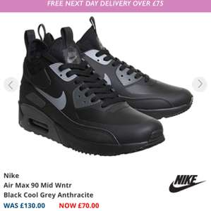 Nike Air Max 90 Mid Winter £70 @ Office