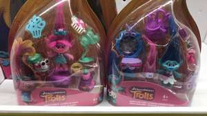Dreamworks trolls little play set from £8 to £2 Asda instore