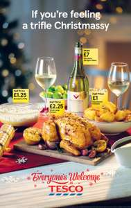 Tesco - instore Christmas tasting event - FREE FOOD & DRINK