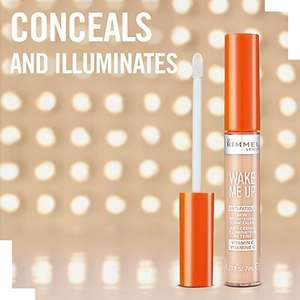Rimmel London Wake Me Up Concealer available in 4 shades £2.74  (Prime) / £6.73 (non Prime) at Amazon