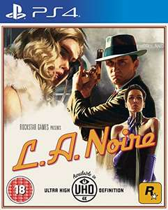 L.A. Noire PS4 £22 / Switch £25.99 delivered @ Amazon