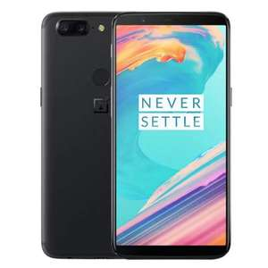 "OnePlus 5T 4G Phablet, Android 7.1, 6.01"", Snapdragon 835 Octa Core 2.45GHz, 8GB/128GB, 16.0MP + 20.0MP, International Version, BLACK, Fingerprint Scanner, Full Optic AMOLED, 3300mAh, Email Price £429.04 @ Gearbest"