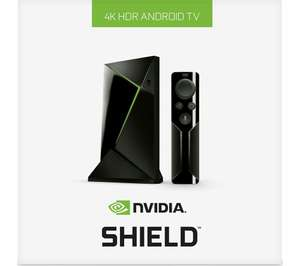 NVIDIA SHIELD 4K Media Streaming Device - 16 GB + Remote £143 @ currys / pcworld