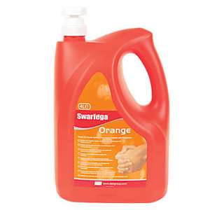 Swarfega Orange Hand Cleaner 4ltr  £8.99  Screwfix
