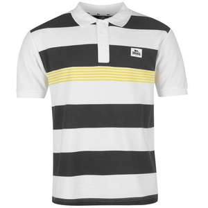 Lonsdale Yarn Dye Stripe Polo Shirt Mens £4.99 plus £4.99 delivery/collect(receive a £5 voucher to spend in store) @ SportsDirect