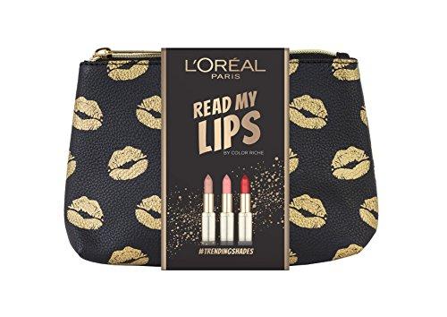 L'Oreal Paris Read My Lips 3 Piece Christmas Gift Set (inc 3 Full Size Lipsticks + Make Up Bag) now £7.50 Prime / £11.49 Non Prime @ Amazon