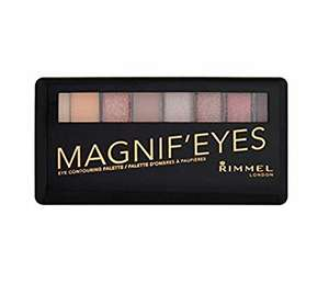 Rimmel London Magnif'eyes 'London Nudes' pallete. £3.35 (Prime) £3.18 (Subscribe and save)
