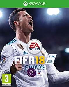 Fifa18 on Xbox One now only £32.99 prime @ Amazon