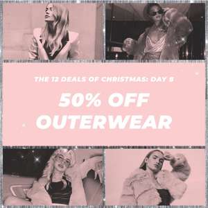 50% off outerwear @ Missguided